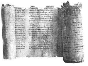Bibelen_Isaiah scroll