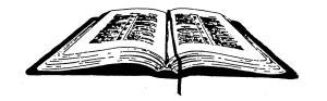 Bible - open